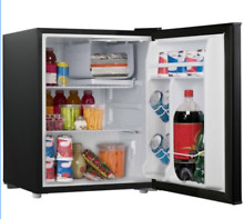 Galanz 3 5 Cu Ft Single Door Mini Fridge Compact Refrigerator Freezer  Black NEW
