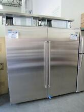 KITCHENAID 25 5 CU  FT SUBZERO SIDE BY SIDE REFRIGERATOR STAINLESS Pickup only