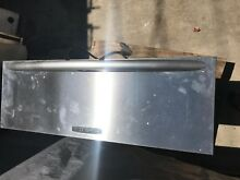 Kitchen aid 30  Stainless Warming drawer