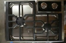 Wolf 15  Stainless Steel 2 Burner Gas Cooktop CT15GS