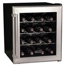 Koldfront TWR160S 17in Wide 16 Bottle Wine Cooler with Thermoelectric Cooling