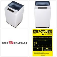 MAGIC CHEF Compact Top Load Washer White Electric Portable Auto Shut Off Laundry