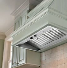 Vent A Hood M34PSLD 36  Wall Mount Liner Insert with Single or Dual Blower Optio
