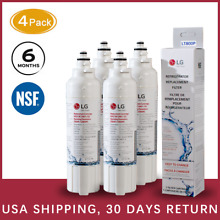 1 4Pack LG LT800P ADQ73613401 Replacement Refrigerator Water Filter ADQ73613401