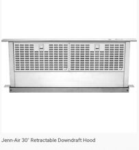 Jenn Air 30  Retractable Downdraft Hood