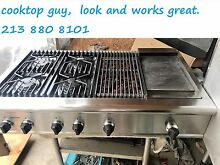 Thermador 48  Pro Ragnetop 4  grill n griddle  new simmer board  in Los Angeles