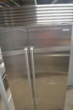 Sub Zero 42  Stainless Steel Built In Side by Side Refrigerator BI42SSPH