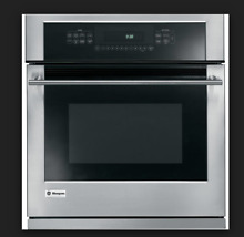 Monogram 27  Stainless Steel Single Electric Convection Wall Oven ZEK938SMSS