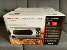 Sharp SuperSteam Stainless Steel Steam Countertop Superheated Oven SSC0586DS