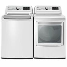 LG   WT7300CW  DLE7300WE   DLG7301WE   Ultra Capacity Top Load Washer and Dryer