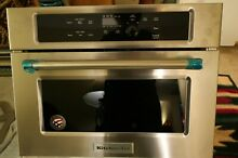 KitchenAid 24  Stainless Steel Built In Microwave Oven  KMBS104ESS