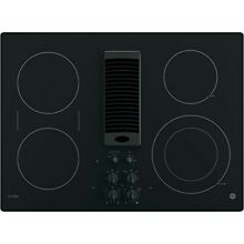 NEW GE Profile 30  Wide Black DOWNDRAFT Cooktop 4 Elements Rapid Boil Electric