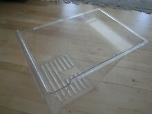REFRIGERATOR DRAWER PN  2163836 CLEAR