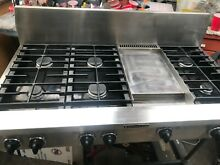 Kitchen Aid 48  Pro Stainless Range top 6   griddle   gas or propane in LA