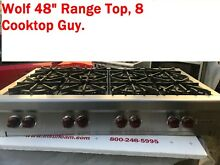 48  Wolf Stainless Rangetop  8 burners  in Los Angeles