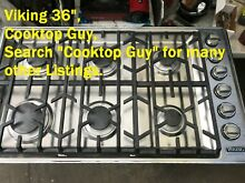 Viking 36  Stianless  Gas Cooktop  VGC5366BSS   in Los Angeles