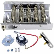 Dryer Thermostat Heating Element for Whirlpool Roper Kenmore 110 60622990 80 600