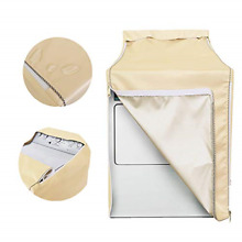Washing machine cover Washer Dryer Cover Made of gold Coated Polyester Fabrics