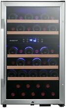 EdgeStar CWF380DZ 19 Inch Wide 38 Bottle Capacity Free Standing Wine Cooler with
