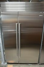 Sub Zero 48  Stainless Steel Built In Side by Side Refrigerator  BI48SIDSPH