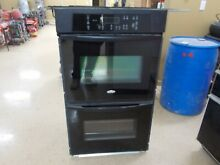 WHIRLPOOL 30  Black Electric Double Wall Oven  PHOENIX  Pick up Only