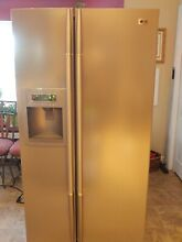 LG Electronics Side by Side Refrigerator Stainless Steel Freezer Freestanding