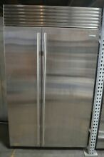 Sub Zero 48  Stainless Steel Built In Side by Side Refrigerator BI48SSTH