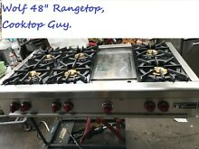 48   Wolf  Range Top  6   grill  in Los Angeles