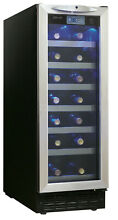Danby DWC276 12 Inch Wide 27 Bottle Capacity Built In Wine Cooler with LED Light