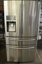 Samsung 36  Stainless Steel 4 Door French Door Refrigerator RF24FSEDBSR