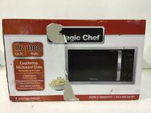 Magic Chef HMM1611ST2 1 6 cu  ft  Countertop Microwave in Stainless steel New