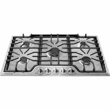 Frigidaire Fggc 3645QS Gallery 36  Gas 5 Burner Cooktop in Stainless Steel