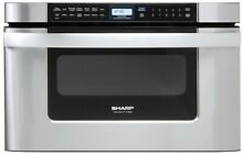 Sharp KB6524PSY 24 Inch Microwave Oven Drawer Auto Touch  Control  Built In