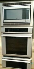 30  THERMADOR TRIPLE COMBO CONVECT WALL OVEN  MICROWAVE  WARMING DRAWER MEMW301
