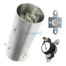 134792700 Electric Dryer Heating Element   Limiter Thermostat Kit For Frigidaire