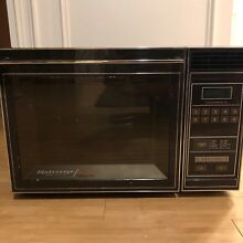 Amana Radarange Touchmatic RRL820 Microwave Oven   Black