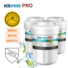 3 PACK Lead remove GE MWF SmartWater MWFP GWF Comparable Water Filter IcepurePro