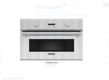 Thermador Professional Series  PSO301M 30 Inch Single Steam Convection Wall Oven