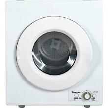 Magic Chef 2 6 Cu  Ft  Compact Electric Dryer Air Dry Option Appliance White New