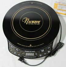 NuWave Pic Gold Model 30201 AQ Portable Cooktop Burner Open Box Pre Owned