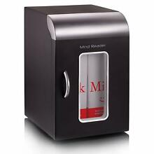 Mind Reader Compact Portable Personal Mini Fridge  For Home  Office  Six Can Cap
