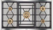 Gaggenau VG491211CA 400 Series 36 Inch Gas Cooktop 5 Burner Stainless steel