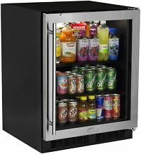 Marvel MA24BC1R Stainless Steel 24  Wide 18 Bottle and 95 Can Built In Energy