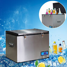 45L Car Refrigerator Compressor Portable Electric Cooler Box Freezer