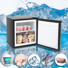 1 1CU FT Compact Mini Freezer Single Door Fridge Household Compressor Cooling