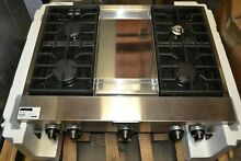 Kitchenaid KKGCU467VSS 36  commercial gas 4 burner griddle stainless steel