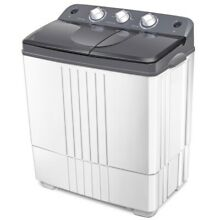 Portable Mini Twin Tub Washing Machine Compact 16Lb Total Washer PREMIUM Spinner