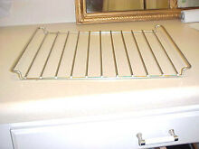 VINTAGE WHIRLPOOL MICROWAVE OVEN Rack 2 Position Bi Level Cooking Shelf   Clips