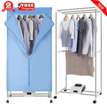 Portable Electric Clothes Dryer Heater Home Drying Wardrobe Laundry Machine 120V