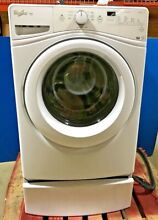 Whirlpool Duet HE Front Load Washer 4 2 cu  Ft  Model WFW72HEDW